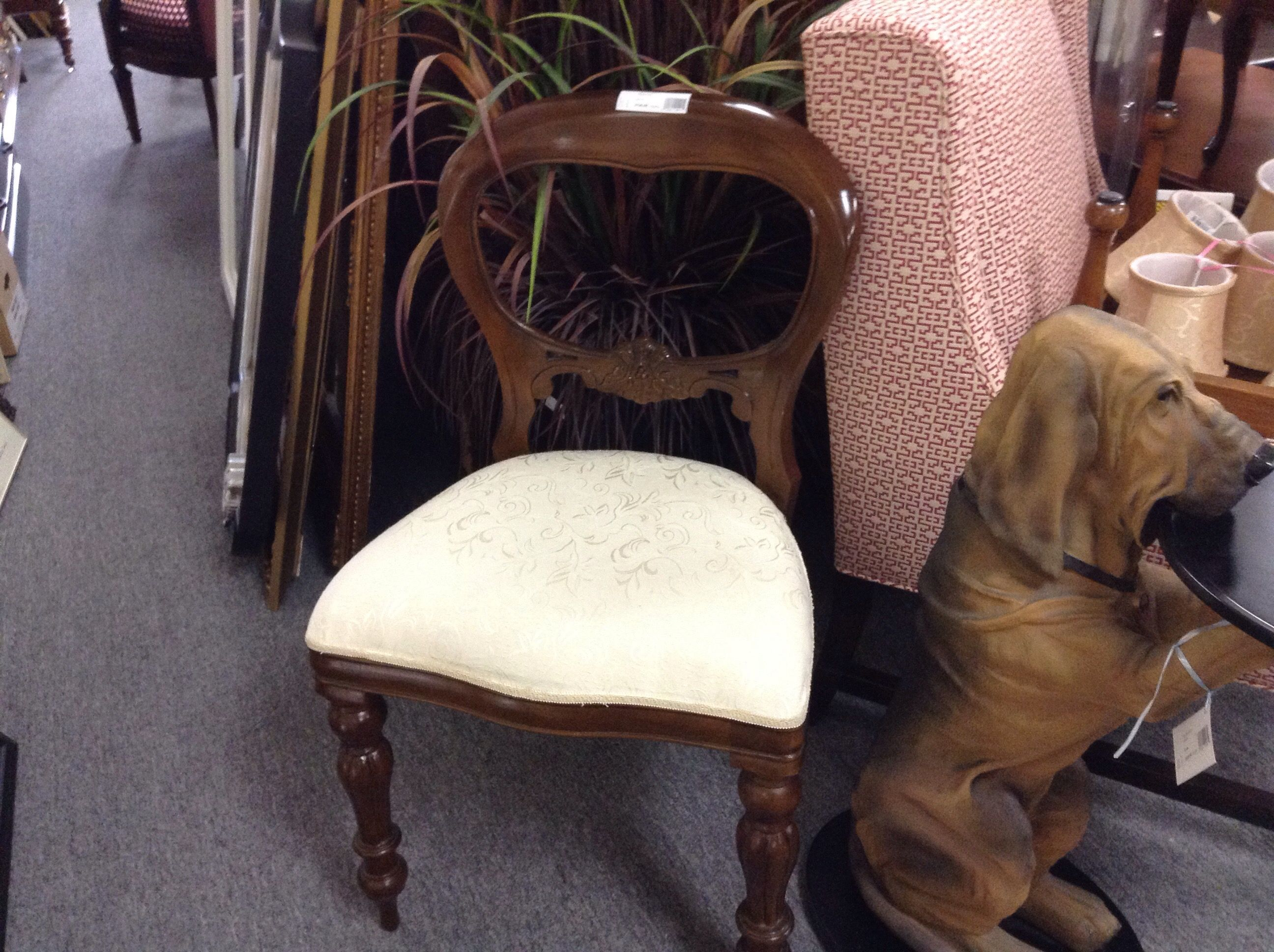 Superior Reproduction Balloon Back Chairs   We Have A Pair. Very Good Reproduction  Chairs. Item