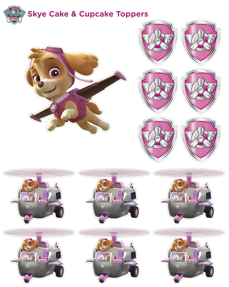 Paw Patrol Birthday   Get Ready For A PAWtastic Party With These Free  Printables And Party