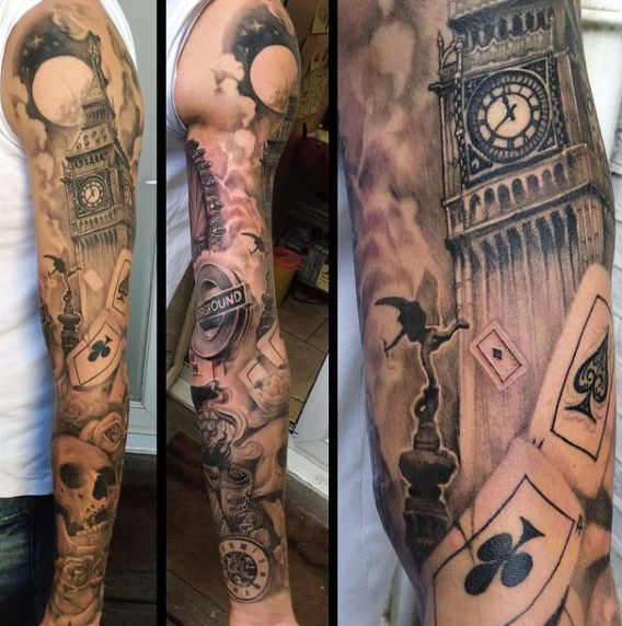 Tattoo Themed Cards - 1000 Geometric Tattoos Ideas