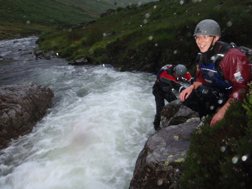 A BIG ghyll scramble for staff!   Dallam Outdoors