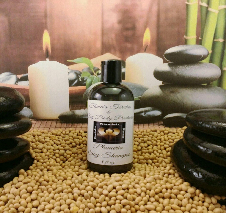Hawaiian Scented Shampoo, Plumeria Shampoo, Hydrating