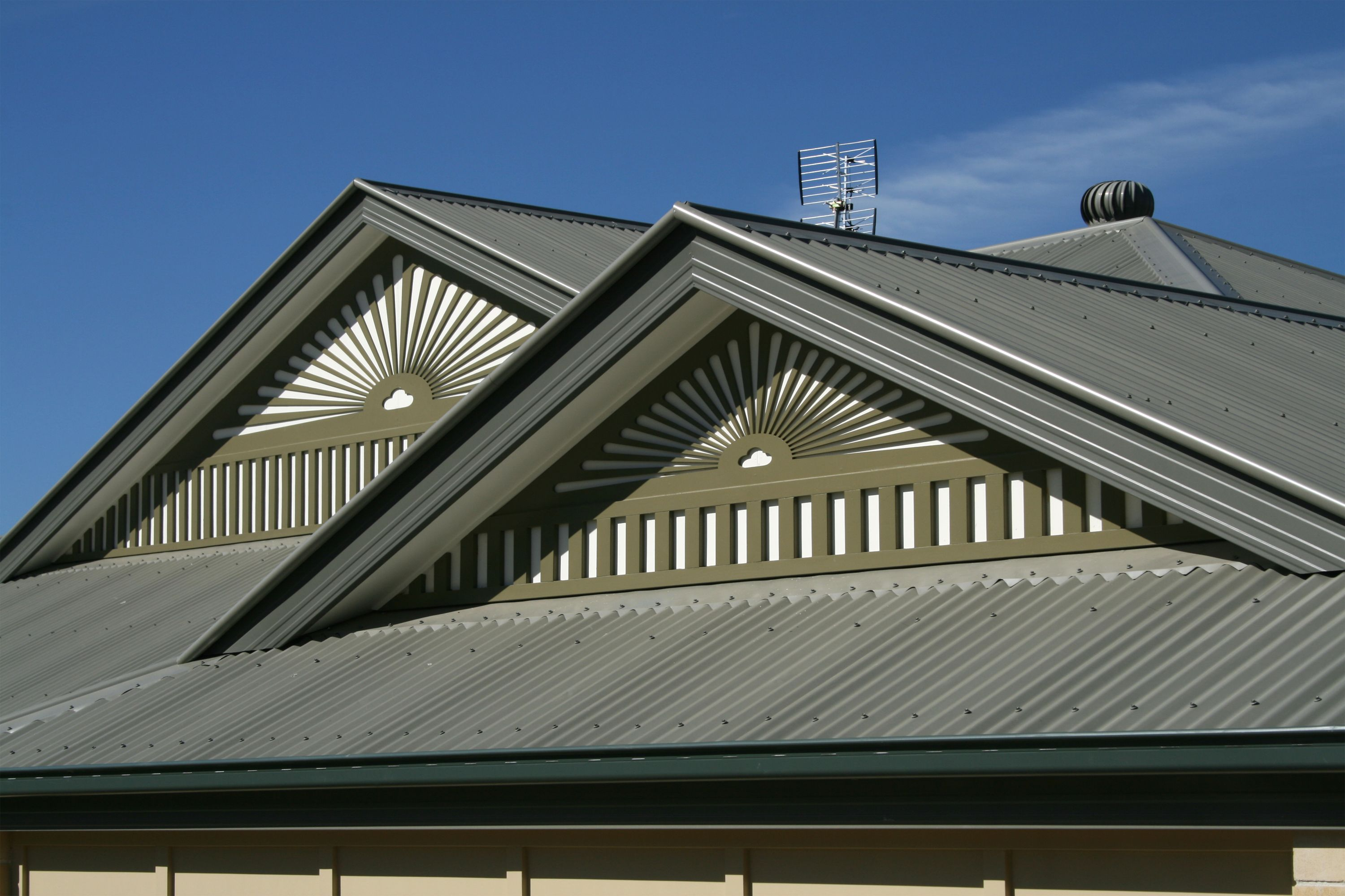 How To Install Galvanized Roof Panels Hunker Gable Roof Design Standing Seam Metal Roof Fibreglass Roof