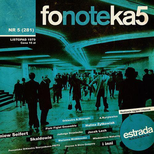 Fonoteka Estrada Nagrania Fonoteka 5 Polish Music Movie Posters Poster