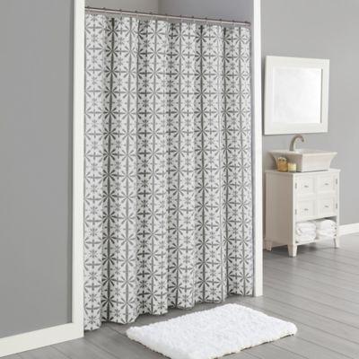 Lummi 72 X 96 Shower Curtain In Grey Curtains 96 Inch Shower