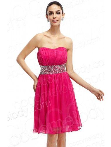 Modern A Line Strapless Short Mini Red Organza Party Dress COVK14001  $105.00   Evening Dress, Evening Dress, Evening Dress, Evening Dress, Evening Dress, Evening Dress, Evening Dress