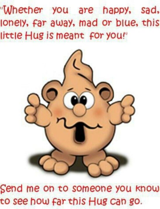 A lovely \'cute hug quote \'\'!! | Cute quotes | Hug, Hug ...