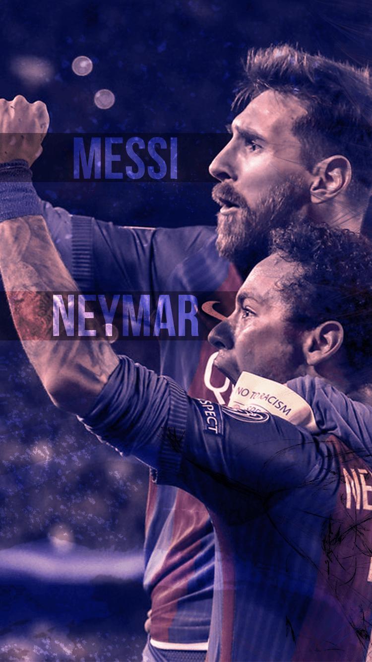 30 Neymar Iphone Wallpapers Download At Wallpaperbro Messi