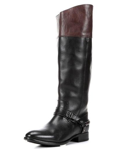 Women's Lindsay Spur Boot - Black Multi