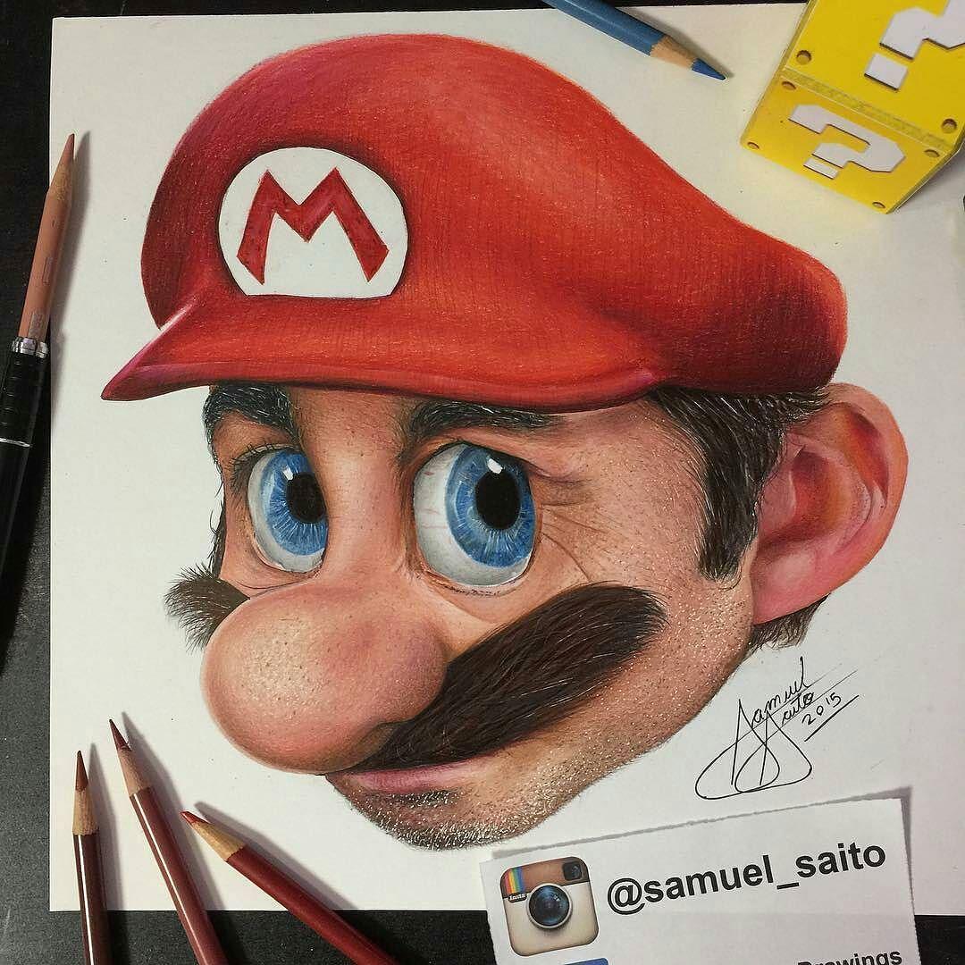 Motive Art Company On Instagram It S Mario Colored Pencil