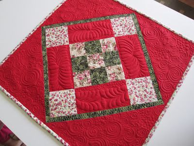 Stitch by Stitch - Table topper/Wall Hanging
