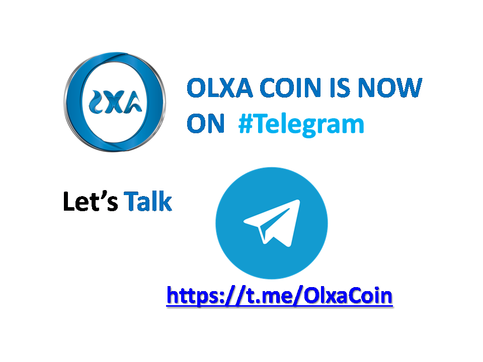 You Asked Us We Did It Join Olxa On Telegram Https T Me Olxacoin Olxa Telegram Ico Crypto Cryptocredit Cryptocurrency Finance Social Media