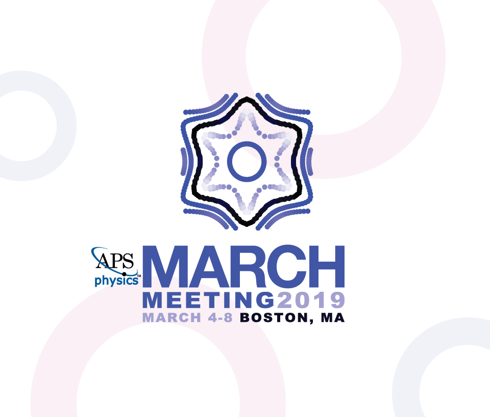 2019 APS Physics Annual Meeting March 48 Boston, MA