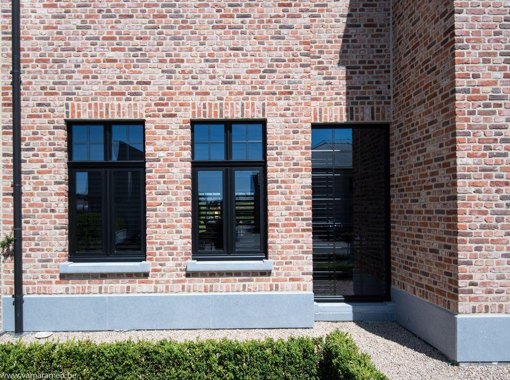 Ramen en deuren jeurissen34 x pinterest ramen deuren en gevel for Moderne stijl gevel