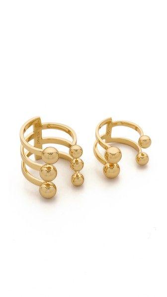 Joomi Lim Dot And Dash Sphere Ring Set