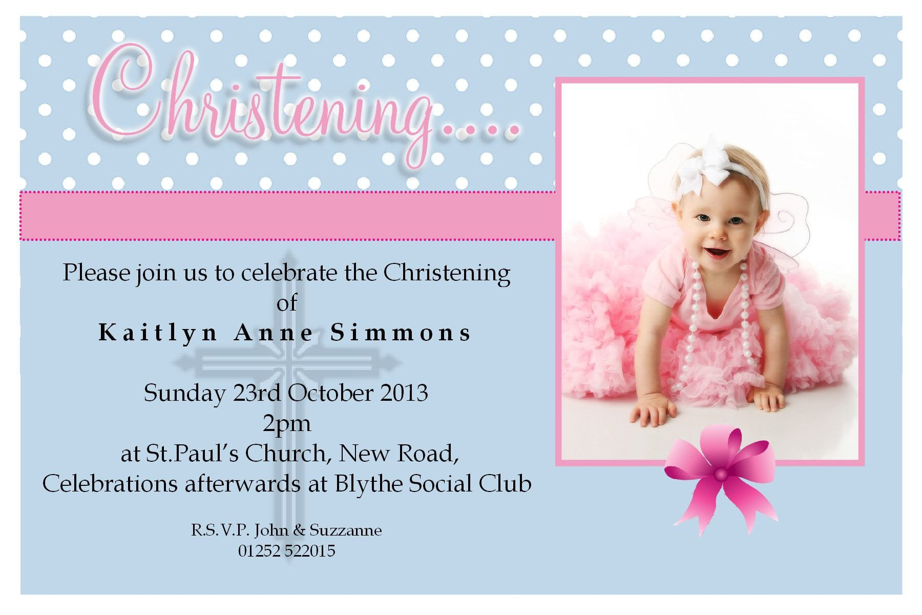 christening invitation cards christening invitation cards for