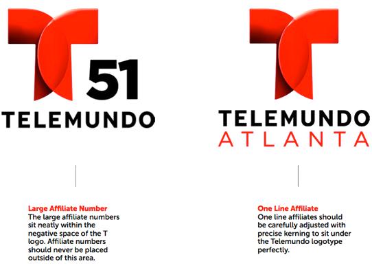 Telemundo Follow Up Branding Design Telemundo Identity Logo Branding