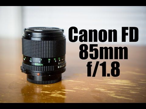 Canon Fd 85mm F X2f 1 8 Lens Review The Sharpest Lens In All Of 35mm Film Youtube 35mm Film Film Photography 35mm Film