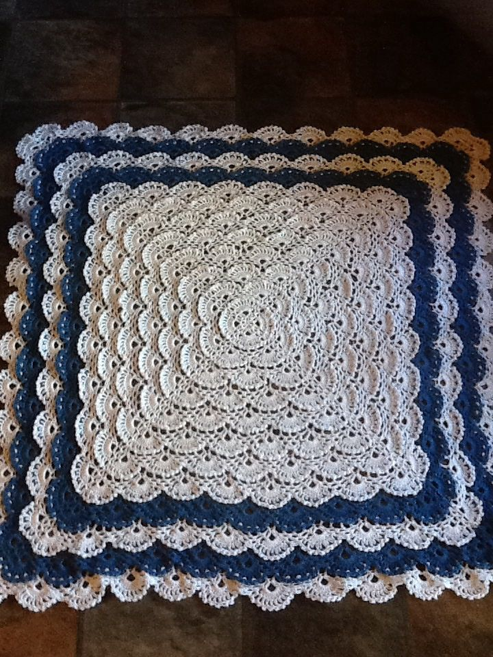 Ravelry: Project Gallery for Fluffy Meringue Blanket pattern by ...