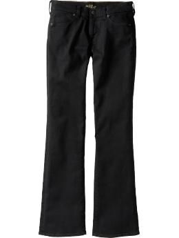 Old Navy 'The Flirt' boot-cut jeans have by far fit me the best. Love 'em!