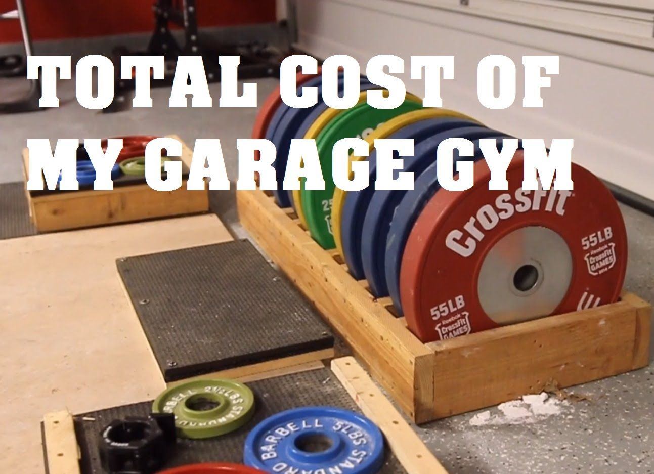 Cost of my garage gym ? pandos barbell club projects to try