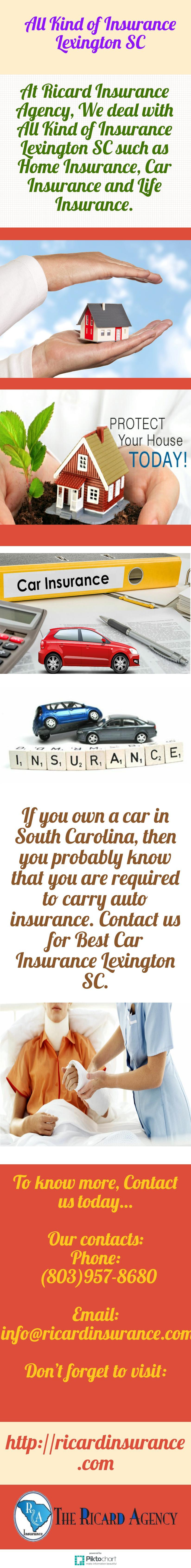 Pin By Ricardinsurance On Best Car Insurance Lexington Sc Best