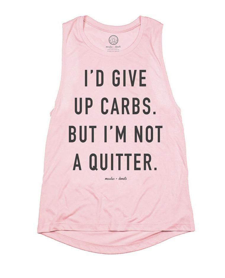 0bceab36c Muscles and Donuts Carbs/Quitter Shirt. Funny Workout Shirts, Fitness T  Shirts,