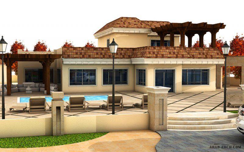 تصميم استراحة بيت ريفي بمزرعه خاصة جرش من اعمال التصميم المعماري التصميم الإنشائي إدارة المشاريع الإشراف Small House Design Exterior House Styles House Design