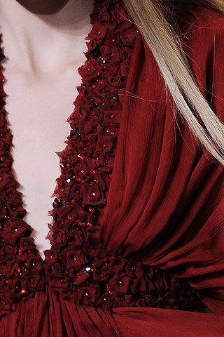 Elie Saab - raging red