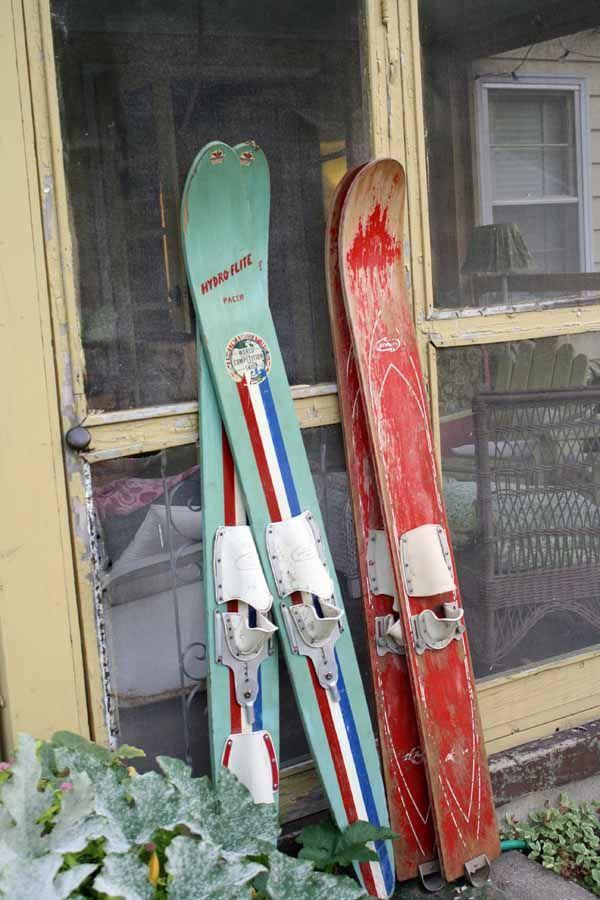 Water skis-love!