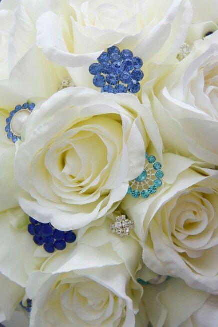 Silk flower bouquet  Zijdebloemen boeket