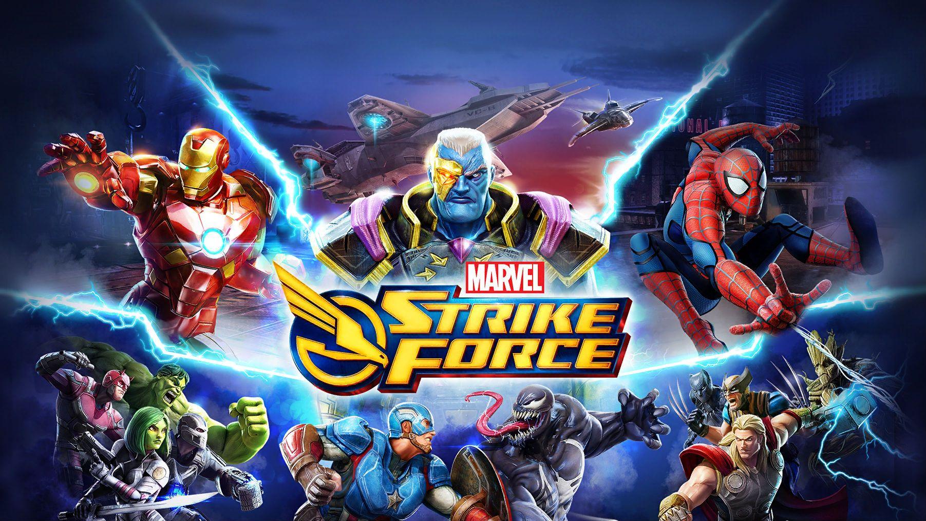 Marvel Strike Force Mod Apk Unlimited Energy Free Download For Android Marvel Strike Force Android Mod Infinite Energy Marvel Game App Android