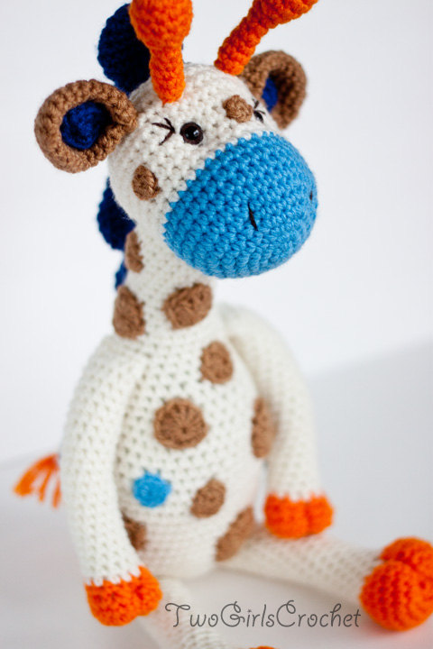 Crochet Pattern Giraffe Amigurumi PATTERN ONLY (Jillian the Giraffe ...
