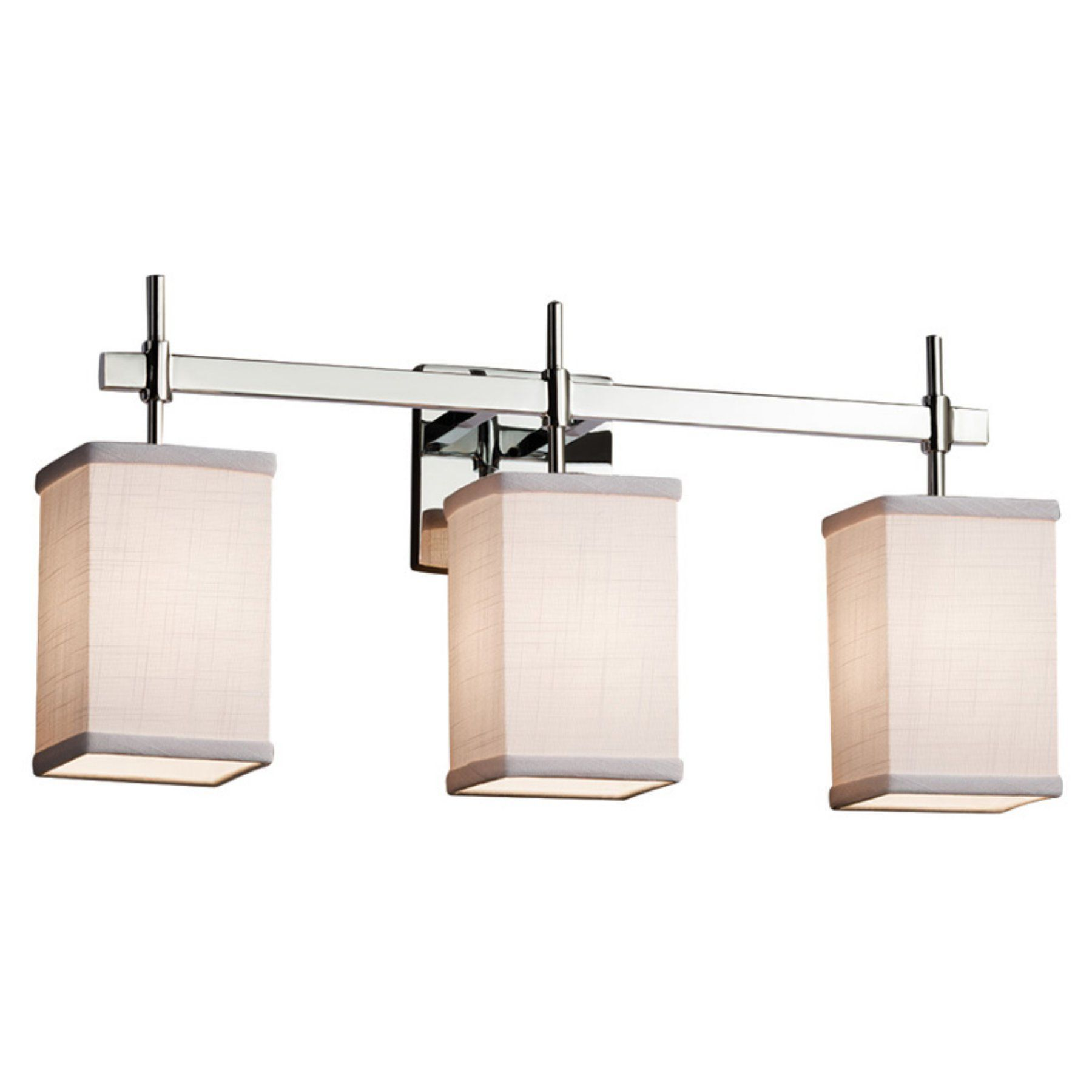 Justice Design Group Textile Union FAB-8413-15 Bathroom Vanity Light ...