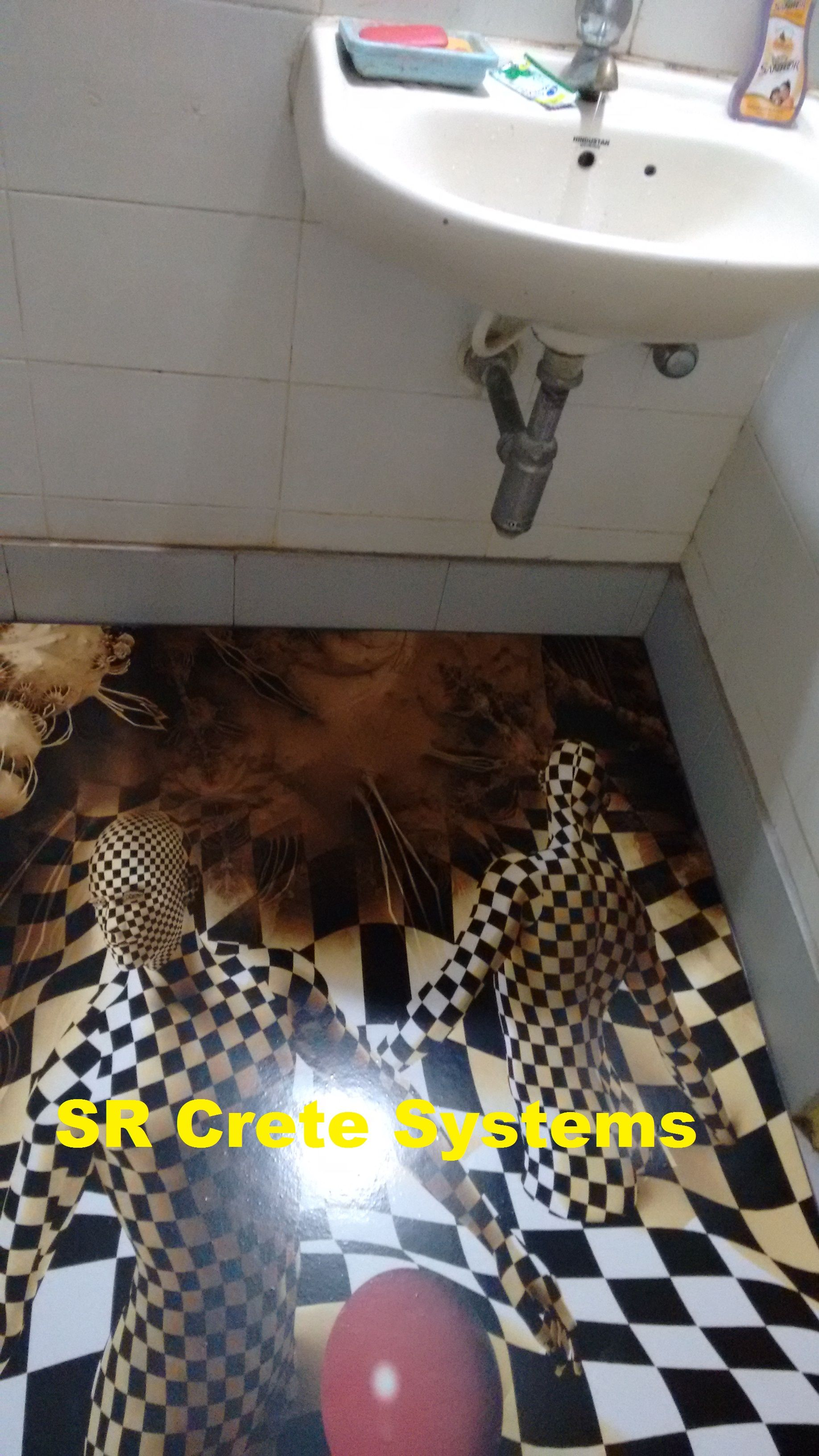 3D flooring for your floor in India. (With images