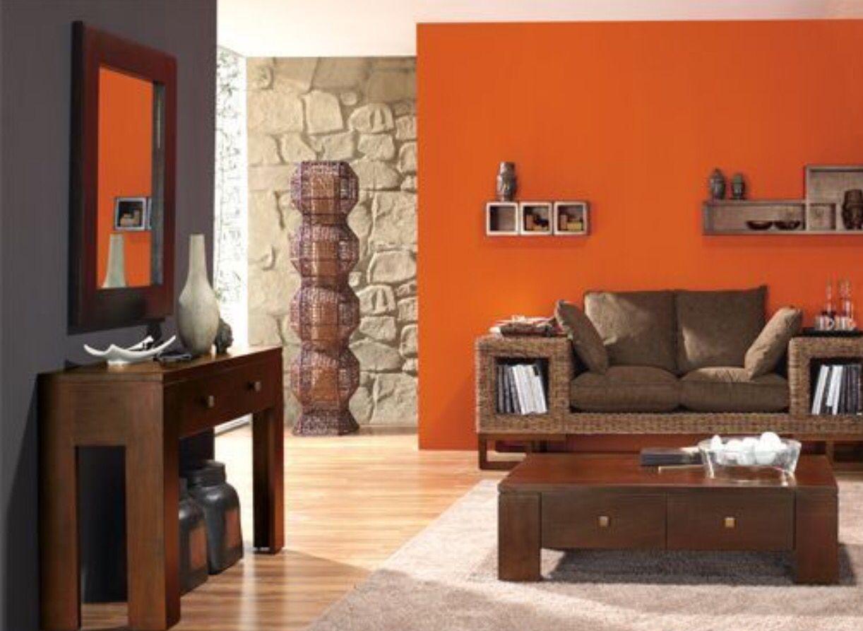 Un poco de color quedar a bien casas interiores y for Combinacion de colores para sala