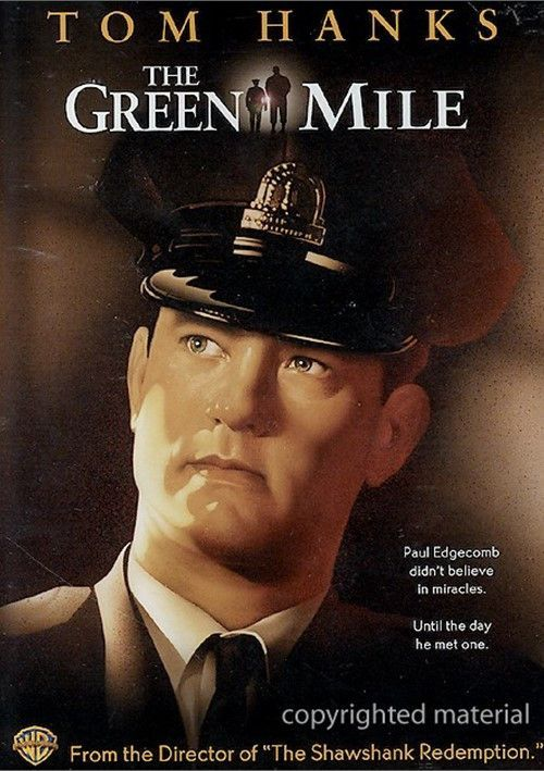 The Green Mile 1999 Tom Hanks Dvd Products Filme
