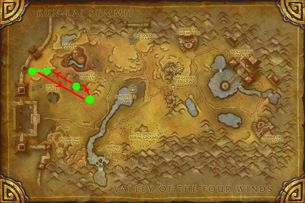Mogu Windwool Cloth Farming Route Vale Of Eternal Blossoms World Of Warcraft Wtbgold Guides Https Youtu Be Fmyngsf World Of Warcraft Warcraft Hearthstone