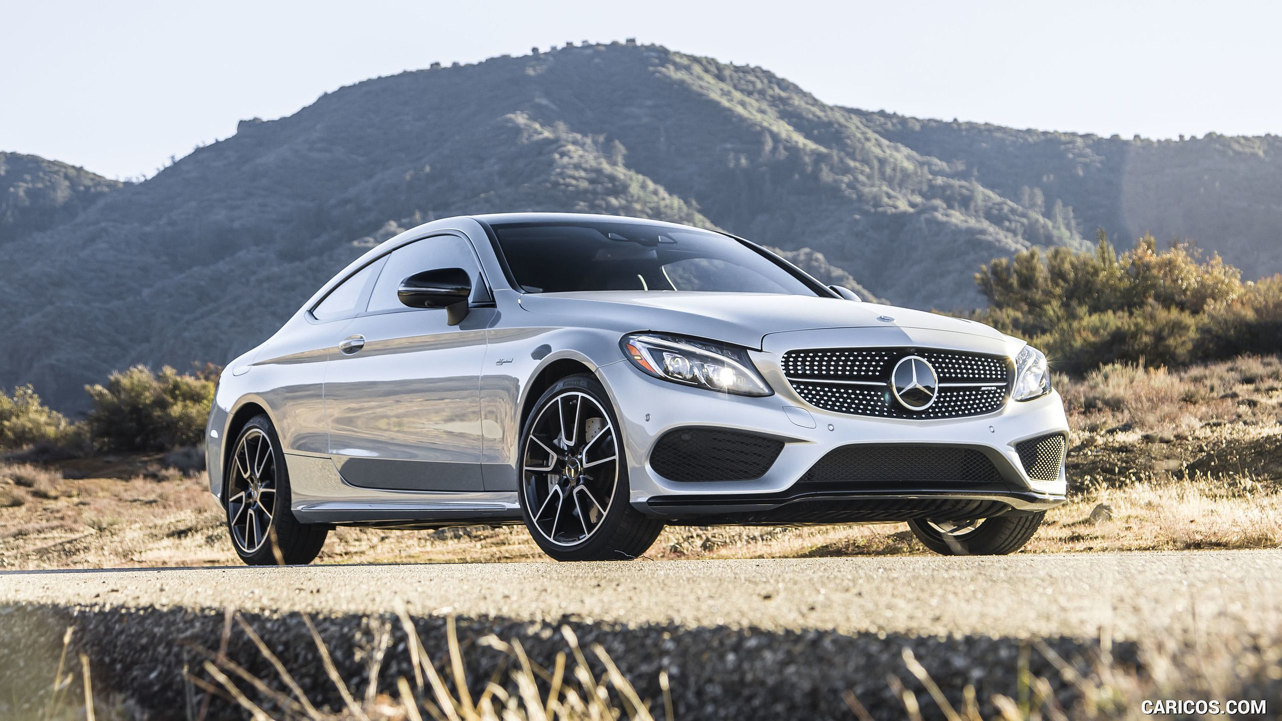 2017 mercedes amg c43 coupe us spec wallpaper