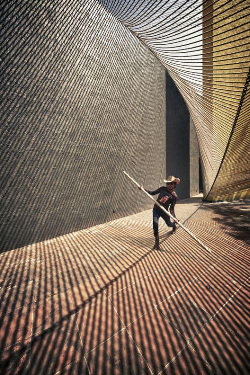 alvareztostado:  mmx: pabellón del eco (ciudad de méxico, 2011)