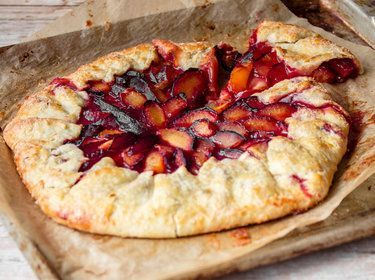 Photo of Rustic plum galette – the Breton one