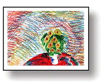 Sunflower Drawings or Paintings: Drawing Lessons for Kids: KinderArt ®