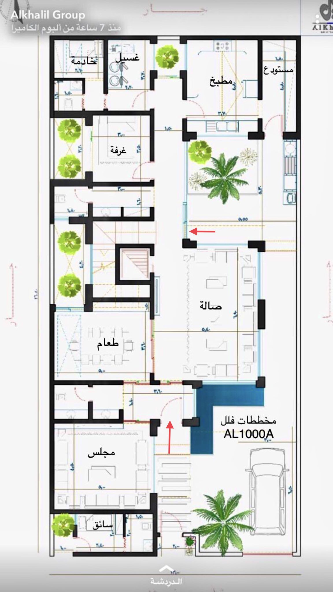 هاوي ع مارة On Twitter House Plans Mansion Model House Plan Minimal House Design