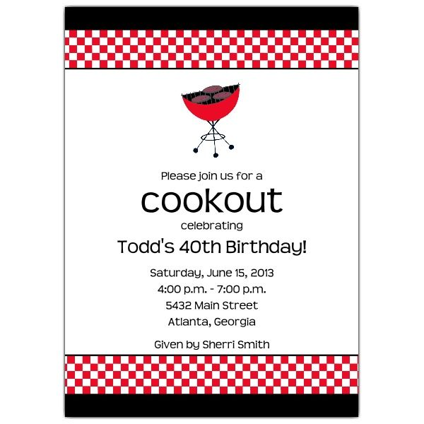cookout party invitation templates chevron weave flat holiday