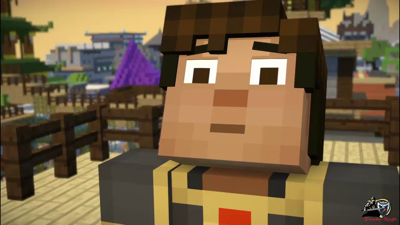 Minecraft Story Mode Season 2 Episode 2 1 Jesse Vs Admin