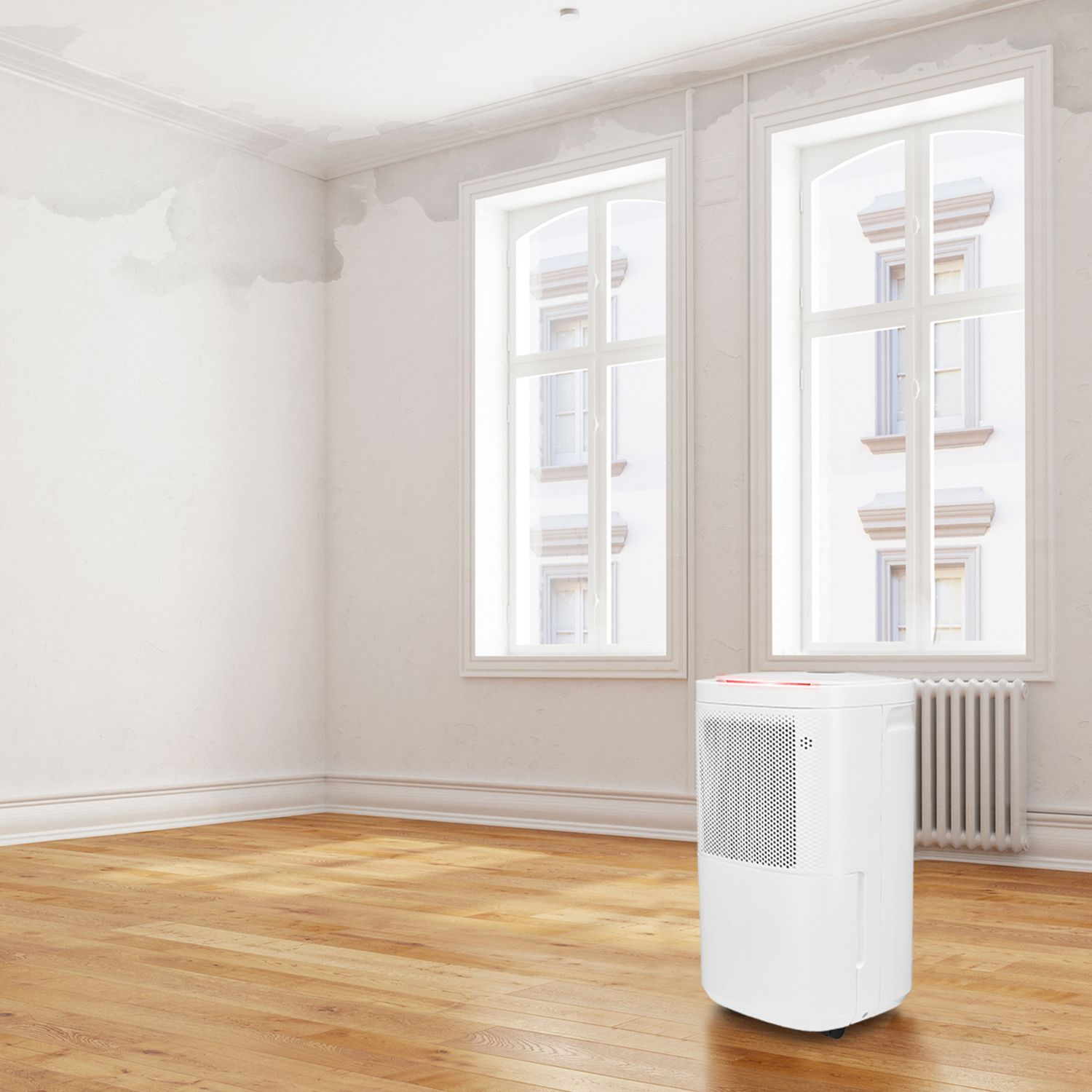12L Dehumidifier For Large Damp Rooms Pro Breeze