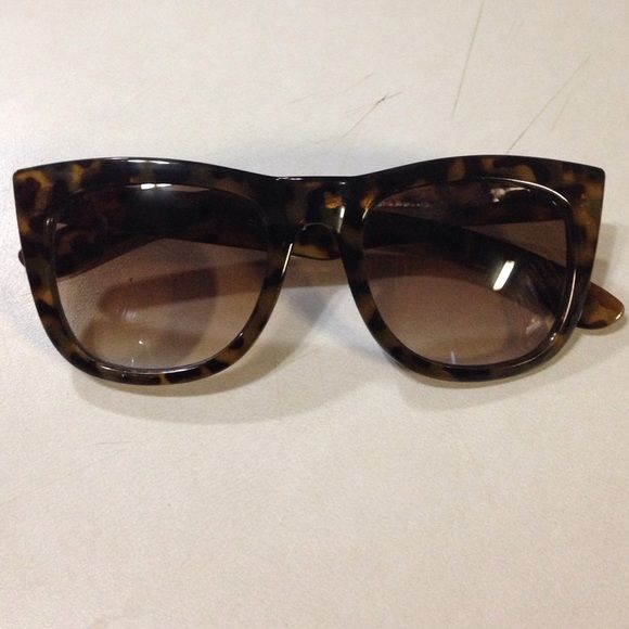 Fashion Sunglasses. Make an offer or bundle! Sunglasses with a leopard print. Worn a few times. Accessories Sunglasses