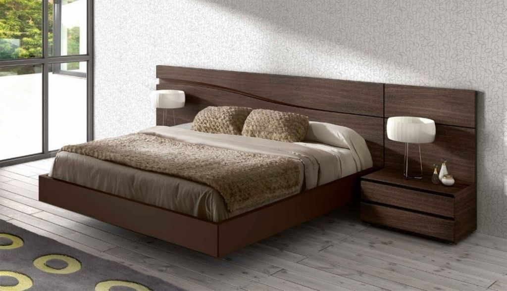 Marvelous Wood Headboard Designs Original Euro Design Bed With Elite