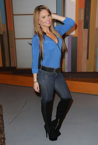 """On The Set Of Univisions """"Despierta America"""""""