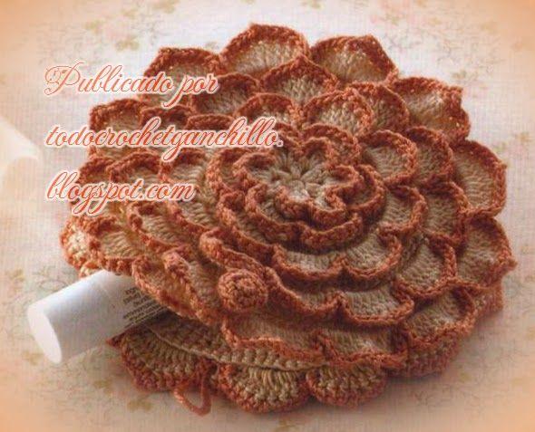 Porta cosméticos / monedero al crochet | Monederos, Ganchillo y Patrones