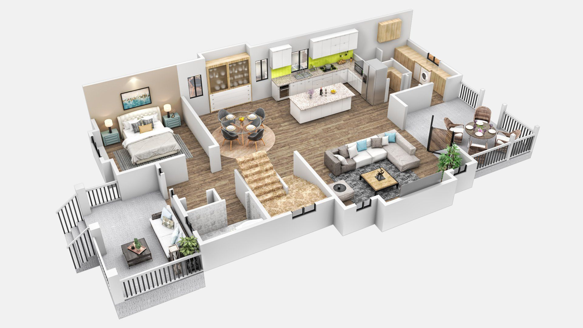 buy 3D architectural rendering services The LittleKnown